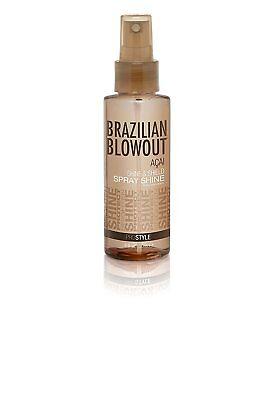 Shine Spray - Brazilian Blowout Acai Shine & Shield Spray Shine 4oz/118ml - FREE SHIPPING
