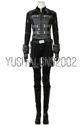 Avengers 3 Infinity War cosplay Kostüm Natalia Black Widow Natasha Romanoff neu (Avengers Black Widow Kostüm)