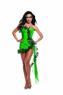 Halloween-kostüme Poison Ivy Batman (Starline Ivy Girl Poison Ivy Batman Womens Adult Halloween Costume T3812)