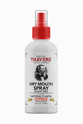 Thayers Dry Mouth Spray Natural Citrus Flavour Sugar Free 4 Fluid Ounce