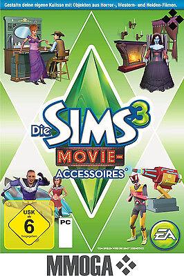 Sims 3 Movie Accessoires Addon Key / Movie Stuff Pack EA/ORIGIN Download Code PC (Sims 3 Downloads)