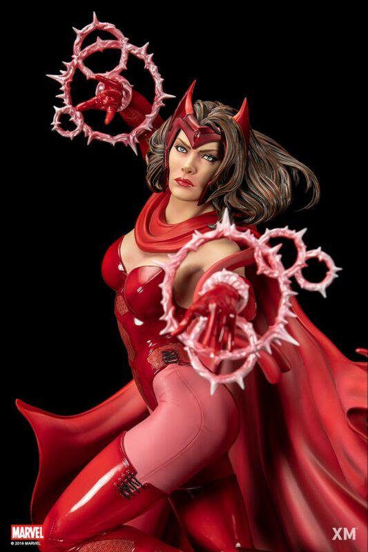 XM Studios Scarlet Witch Wanda 1/4 Scale Statue Marvel Avengers X-Men MIB USA