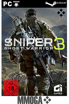 Sniper Ghost Warrior 3 III Key - STEAM Digital Code - PC [Action] Spiel [DE/EU]