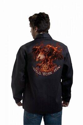 Tillman 9063l Weld Work Win Flame Resistant Jacket Large
