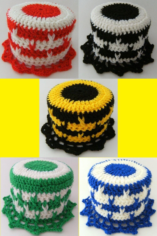 Klohut Klohüte Klopapierhut Klopapierhüte Toilettenpapierhut, 2 farbig kultig