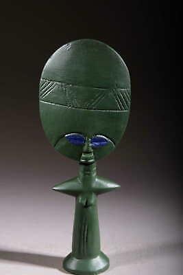 Art Contemporary African Doll Ashanti Khaki 125