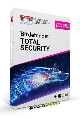 Bitdefender Total Security 2019 Multi-Device (1-10 PC / Geräte) 1, 2 und 3 Jahre