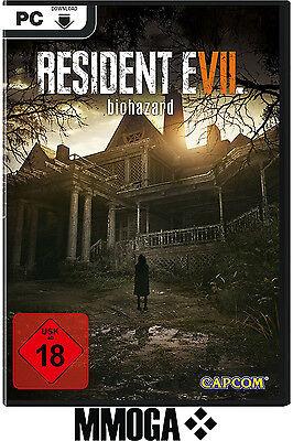 RESIDENT EVIL 7 BIOHAZARD VII - PC Spiele Code - STEAM Download Key NEU