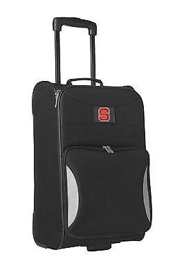 "North Carolina Wolfpack Denco Sports Luggage Steadfast Upright Carry On 21"""