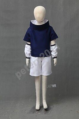 Naruto Sasuke Uchiha Kids Child Children Cosplay Costume Halloween](Naruto Baby Costume)