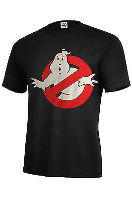 GHOSTBUSTERS LOGO ASSORTED COLORS T-SHIRT SIZES KIDS XS2-4-XL18-20 ADULT S-5XL