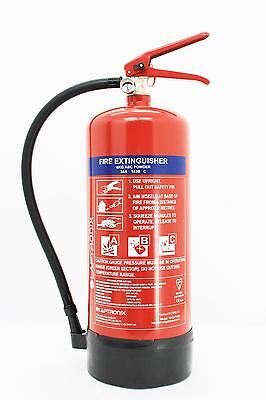 6KG DRY POWDER ABC FIRE EXTINGUISHER HOME OFFICE CAR VANS KITCHEN WITH BRACKET