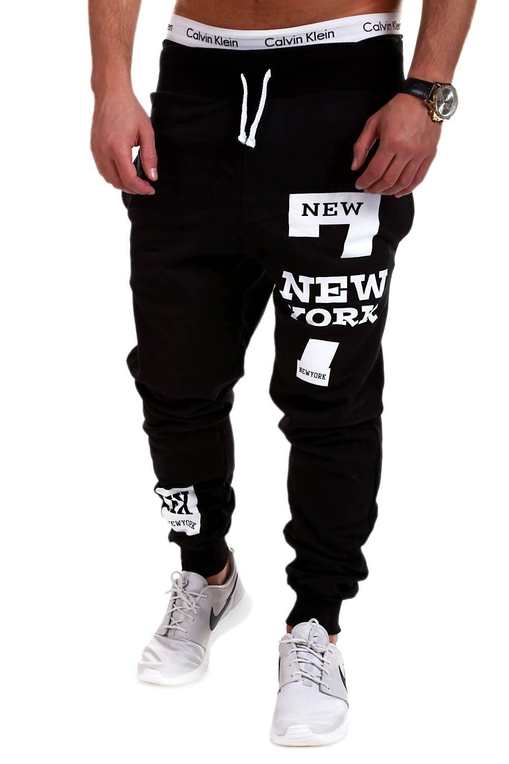 Clothing Shoes Accessories Pantalones Modernos Para Hombres Casual Pantalones Deportivos Comodos Sweatpants Pants