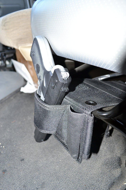 Concealed Under Car Seat Pistol Holster Wall Mount Bedroom