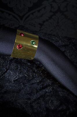 Armreif gold mit Steinen Oberarmreif Cleopatra Kostüm Zubehör - Cleopatra Kostüm Zubehör
