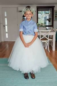 Tulle Flower Girl Skirt Mollymook Shoalhaven Area Preview