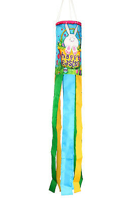 Toland Bunny Tail 5.5 x 40 Inch Easter Critter Windsock