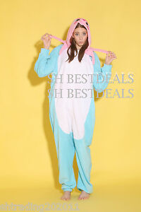 Adult Fleece Unisex Onesies Kigurumi Animal Pajamas Cosplay Costume Sleepwear