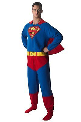 Superman Kostüm Anzug Original Superhelden Overall