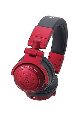 Audio-Technica ATH-PRO500MK2 Headphones - Red