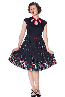 50 S Clothes For Women (Women's Vintage Retro Rockabilly 50's Christmas Cocktail Dress By BANNED)