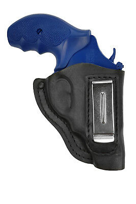 IWB 11 Leder Revolver Holster für Colt Detective Special schwarz VlaMiTex (Holster Revolver)