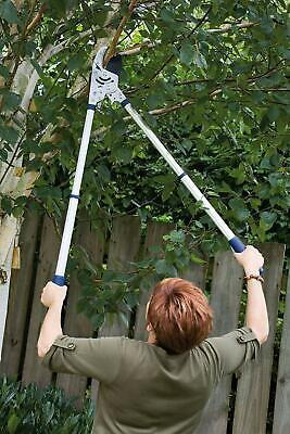 Razor sharp Heavy Duty Telescopic Rachet Anvil Tree Lopper Pruner Shears Spear
