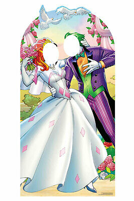 Harley Quinn & el Joker Boda Oficial Tamaño Natural Soporte En Recorte...