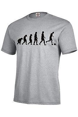 Evolution Soccer T-Shirt/Long Sleeve/Tank Top Assorted Colors S-5XL KIDS XS-XL Soccer T-shirt Tank Top