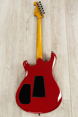Knaggs Severn XF Guitar, Black And Ferrari Red, Macassar Ebony, NAMM Autographed - $4,956.80