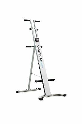 Exercise Machine Vertical Climber Stepper Cardio Workout Fitness Foldable Gym, used for sale  Shipping to South Africa