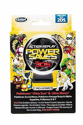 3DS Action Replay Powersaves [Datel, For Nintendo 3DS 2DS, Game Enhancer] New