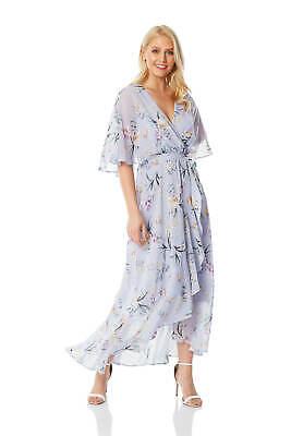 Chiffon Wrap Maxi Dress Women Roman Originals  (Roman Dress Women)