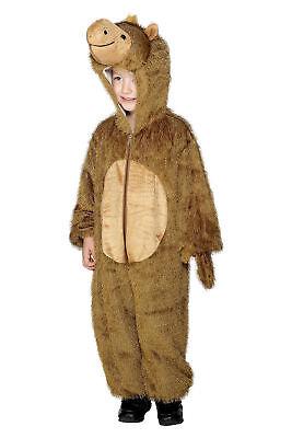 Camel Child Costume Desert Animal Jumpsuit w Hood Zip-Up Manger Toddler Small (Childs Camel Costume)