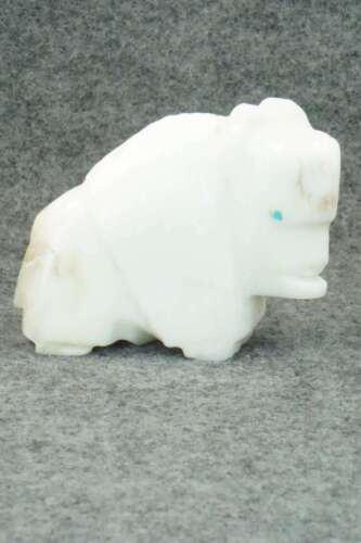 Buffalo Zuni Fetish Carving - Gilbert Lonjose