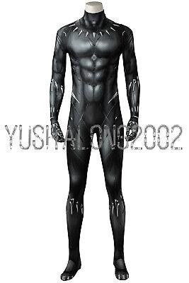 Black Panther T'Challa Cosplay Kostüm Costume Full Set - Black Panther Kostüm Cosplay