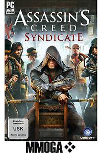 Assassin's Creed Syndicate - PC Game Code - UPLAY Ubisoft Download Key Neu DE EU