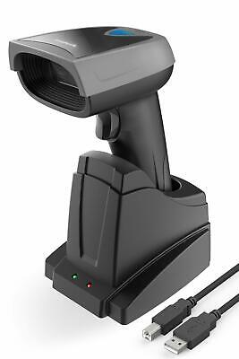 Inateck Barcode Scanner 1d Wireless Screen With Smart Base Read Screen Bs01001