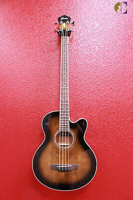 Ibanez AEB10E Acoustic-Electric Bass,Dark Violin Sunburst-Free shipping lower US