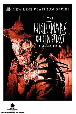 Nightmare on Elm Street Collection 8 Disc Set (PLATINUM) NEW  FREE SHIPPING