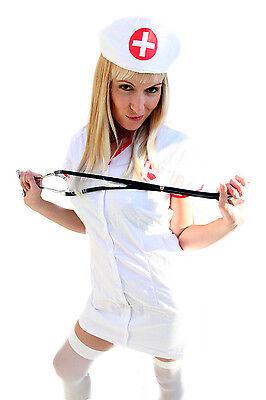 Kostüm Krankenschwester SEXY Nurse Schwester Oberschwester Fasching Hospital K18
