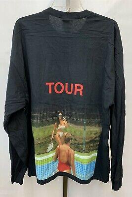New Men's Kanye West Ye Saint Pablo Tour Long Sleeve Shirt, Sizes XL & 2XL