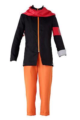 Naruto: Shippuden Movie 7 - The Last Cosplay Costume Uzumaki Naruto Outfit Set