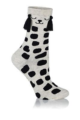 Kostüm Panda, Kuh oder Hase Fantasie Baumwolle Luxus Mädchen Damen Socken ()