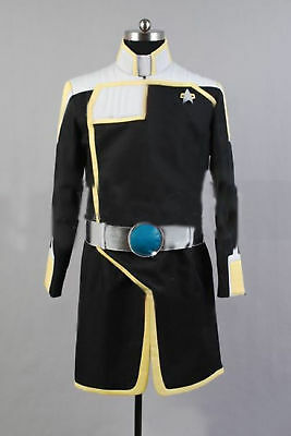 Star Trek Online uniform Coat tops Cosplay Costume custom made:Free shipping - Star Trek Online Uniforms