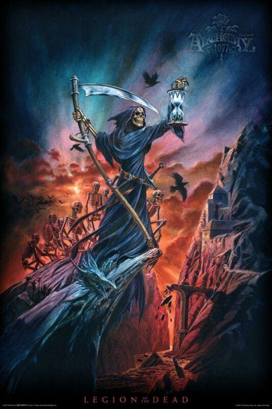 """Aquarius Alchemy - LEGION OF THE DEAD - Sci-Fi Fantasy Poster BRAND NEW 24""""X36"""""""