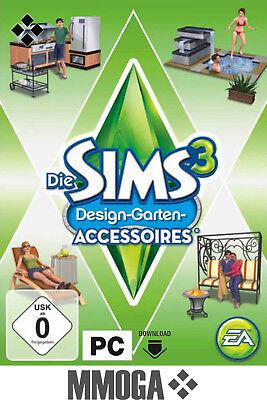Die Sims 3 - Design Garten Accessoires Outdoor Living PC Origin Spiel Code - EU