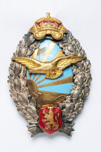 The WWII Bulgaria Military Pilot Badge. Nice and Original!