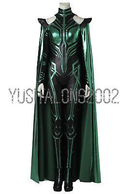 Thor III Ragnarök Loki Hela Cosplay Kostüm Costume Full Set Outfit Halloween ()