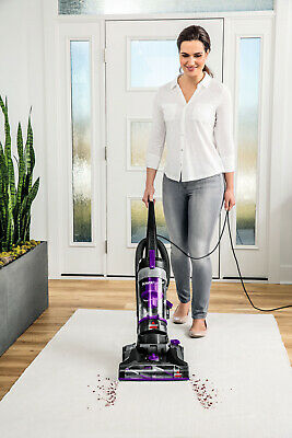 Bagless Bissell Vac PowerForce Vaccum Cleaner Turbo Helix Filter Brush Carpet